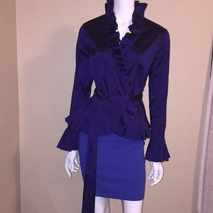 NWOT, Adrianna Papell Evening blouse size 4